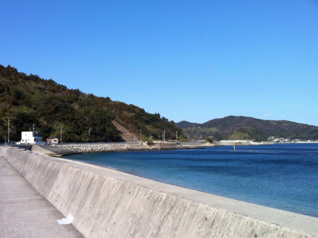佐賀関(さがのせき)の海