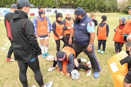 第2回NZ Rugby Academy 2019 FUKUOKA